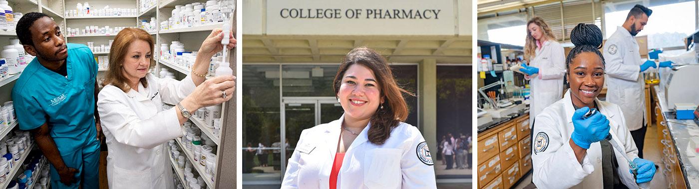 Mercer Pharmacy Student Scenes
